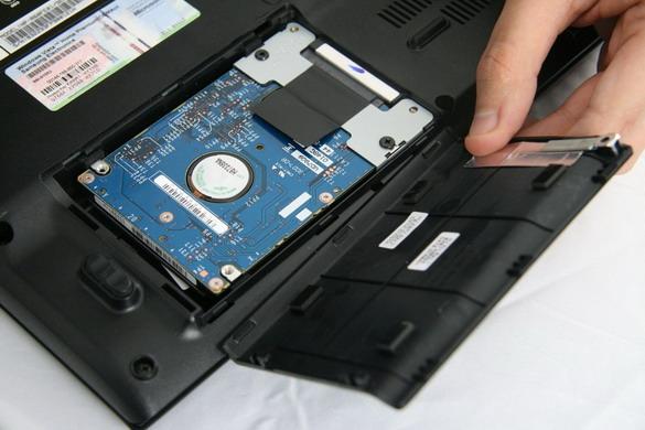Жёсткий диск ноутбука