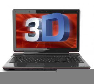 Новый 3D ноутбук от фирмы Toshiba